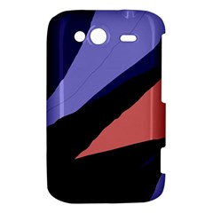Purple and pink abstraction HTC Wildfire S A510e Hardshell Case