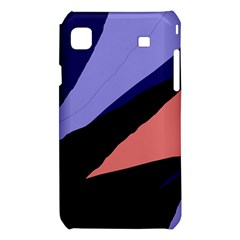 Purple and pink abstraction Samsung Galaxy S i9008 Hardshell Case