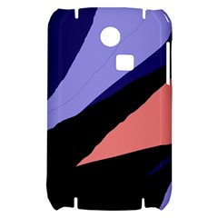 Purple and pink abstraction Samsung S3350 Hardshell Case