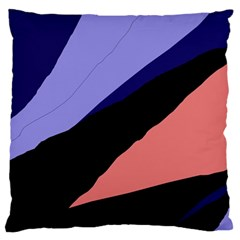 Purple and pink abstraction Large Cushion Case (Two Sides)