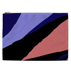 Purple and pink abstraction Cosmetic Bag (XXL)