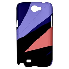 Purple and pink abstraction Samsung Galaxy Note 2 Hardshell Case