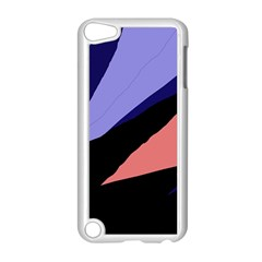 Purple and pink abstraction Apple iPod Touch 5 Case (White)