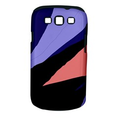 Purple and pink abstraction Samsung Galaxy S III Classic Hardshell Case (PC+Silicone)