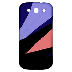 Purple and pink abstraction Samsung Galaxy S3 S III Classic Hardshell Back Case