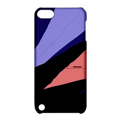 Purple and pink abstraction Apple iPod Touch 5 Hardshell Case with Stand