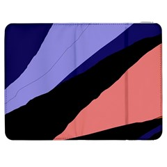 Purple and pink abstraction Samsung Galaxy Tab 7  P1000 Flip Case