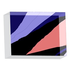 Purple and pink abstraction 5 x 7  Acrylic Photo Blocks