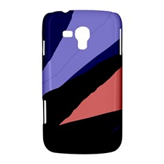 Purple and pink abstraction Samsung Galaxy Duos I8262 Hardshell Case