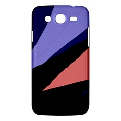 Purple and pink abstraction Samsung Galaxy Mega 5.8 I9152 Hardshell Case