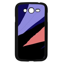 Purple and pink abstraction Samsung Galaxy Grand DUOS I9082 Case (Black)