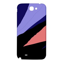 Purple and pink abstraction Samsung Note 2 N7100 Hardshell Back Case