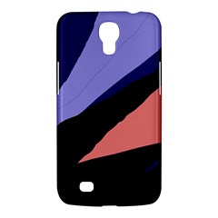 Purple and pink abstraction Samsung Galaxy Mega 6.3  I9200 Hardshell Case