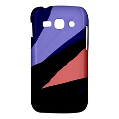 Purple and pink abstraction Samsung Galaxy Ace 3 S7272 Hardshell Case