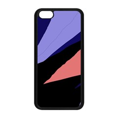 Purple and pink abstraction Apple iPhone 5C Seamless Case (Black)