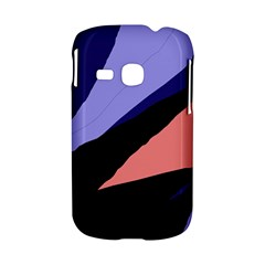 Purple and pink abstraction Samsung Galaxy S6310 Hardshell Case