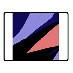 Purple and pink abstraction Double Sided Fleece Blanket (Small)