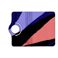 Purple and pink abstraction Kindle Fire HD (2013) Flip 360 Case