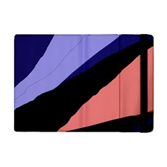 Purple and pink abstraction iPad Mini 2 Flip Cases