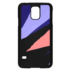 Purple and pink abstraction Samsung Galaxy S5 Case (Black)