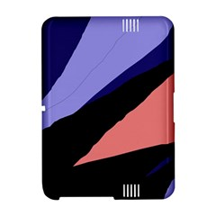 Purple and pink abstraction Amazon Kindle Fire (2012) Hardshell Case