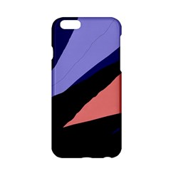 Purple and pink abstraction Apple iPhone 6/6S Hardshell Case