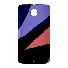 Purple and pink abstraction Nexus 6 Case (White)