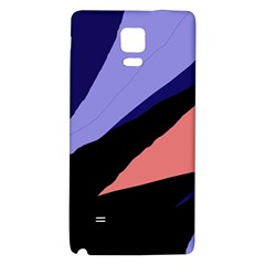 Purple and pink abstraction Galaxy Note 4 Back Case
