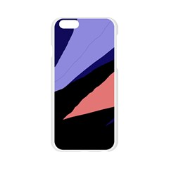 Purple and pink abstraction Apple Seamless iPhone 6/6S Case (Transparent)