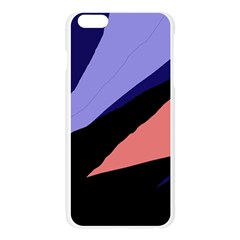 Purple and pink abstraction Apple Seamless iPhone 6 Plus/6S Plus Case (Transparent)