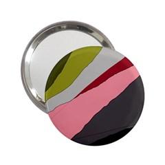 Colorful abstraction 2.25  Handbag Mirrors