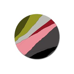 Colorful abstraction Magnet 3  (Round)