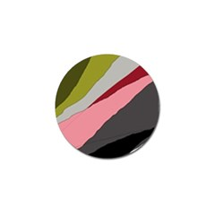 Colorful abstraction Golf Ball Marker (4 pack)