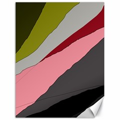 Colorful abstraction Canvas 18  x 24