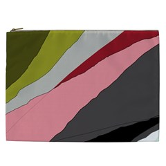 Colorful abstraction Cosmetic Bag (XXL)