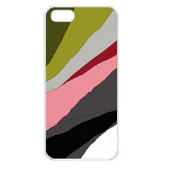 Colorful abstraction Apple iPhone 5 Seamless Case (White)