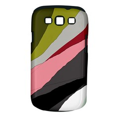 Colorful abstraction Samsung Galaxy S III Classic Hardshell Case (PC+Silicone)
