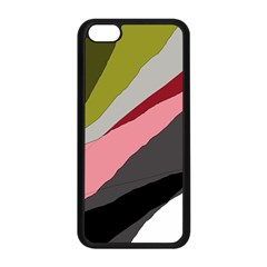 Colorful abstraction Apple iPhone 5C Seamless Case (Black)