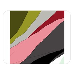 Colorful abstraction Double Sided Flano Blanket (Large)