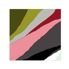 Colorful abstraction Small Satin Scarf (Square)