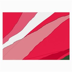 Pink abstraction Large Glasses Cloth (2-Side)