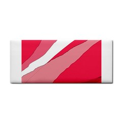 Pink abstraction Hand Towel