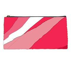 Pink abstraction Pencil Cases