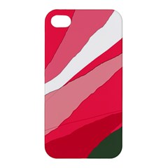 Pink abstraction Apple iPhone 4/4S Hardshell Case