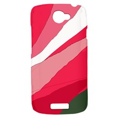 Pink abstraction HTC One S Hardshell Case