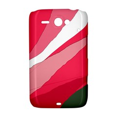 Pink abstraction HTC ChaCha / HTC Status Hardshell Case