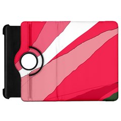 Pink abstraction Kindle Fire HD Flip 360 Case