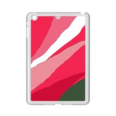 Pink abstraction iPad Mini 2 Enamel Coated Cases