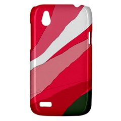 Pink abstraction HTC Desire V (T328W) Hardshell Case