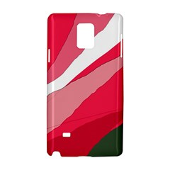 Pink abstraction Samsung Galaxy Note 4 Hardshell Case